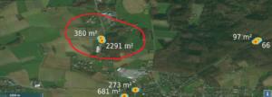 Quelle: Bing Maps, Melle-Riemsloh